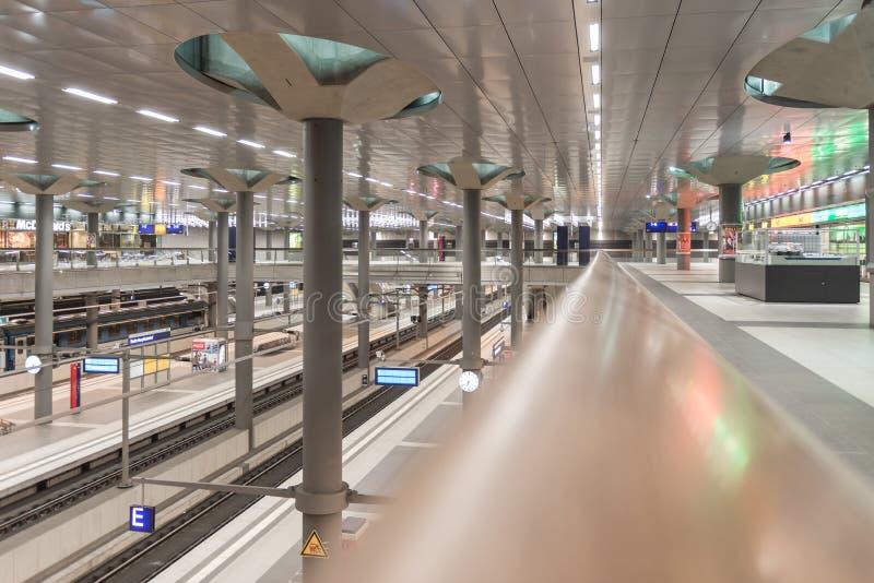 Berlin Hauptbahnhof stockbild
