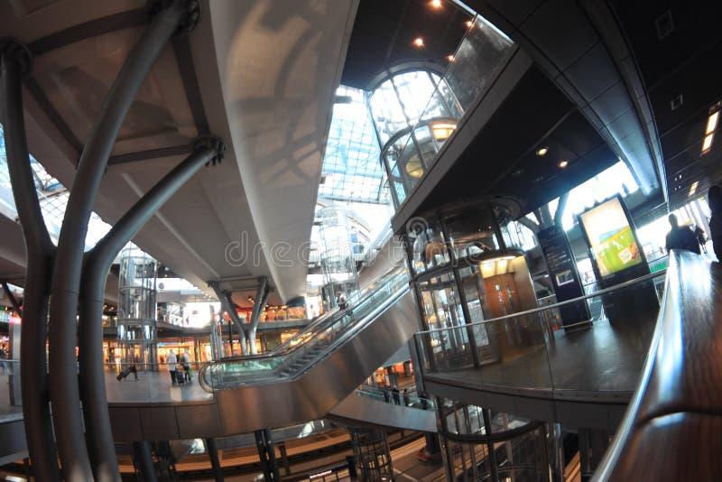 Berlin Hauptbahnhof (Berlin Central Station) imagens de stock