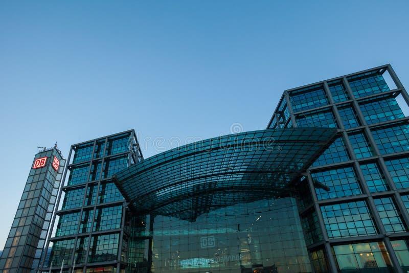 Berlin Hauptbahnhof (estación principal) imagen de archivo libre de regalías