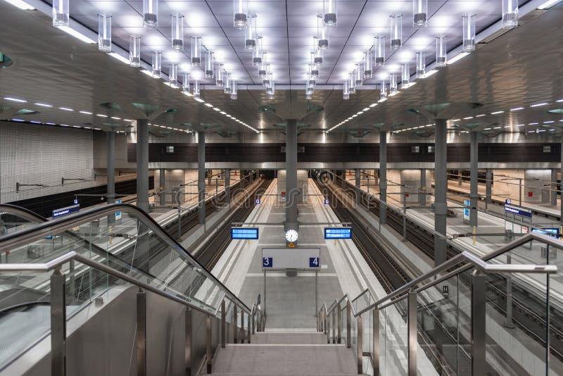 Berlin Hauptbahnhof royalty free stock photo