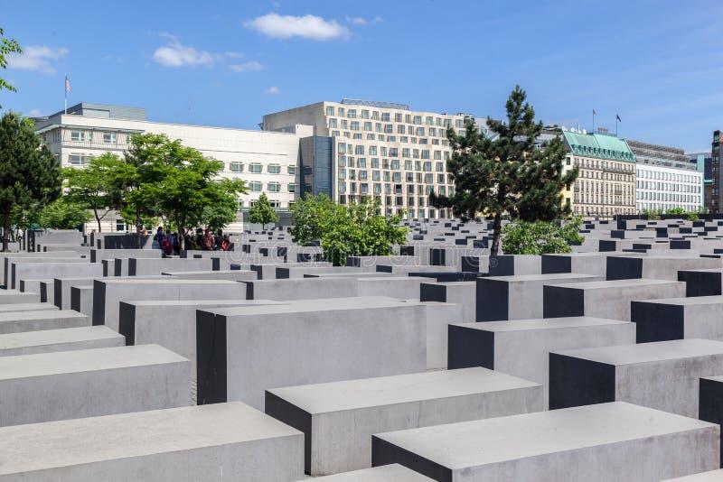 Berlin Holocaust Memoial Germany foto de archivo libre de regalías