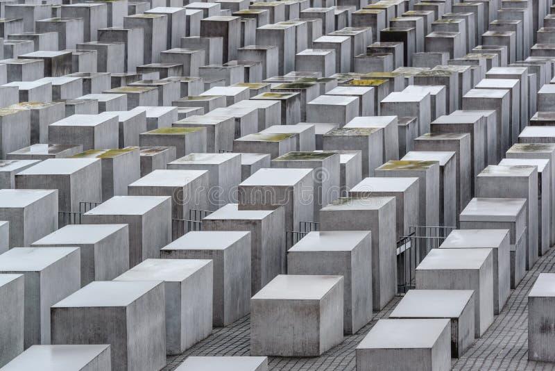 Berlin Holocaust Memorial foto de archivo libre de regalías