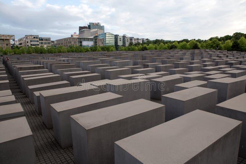 Berlin Holocaust Memorial imagen de archivo libre de regalías