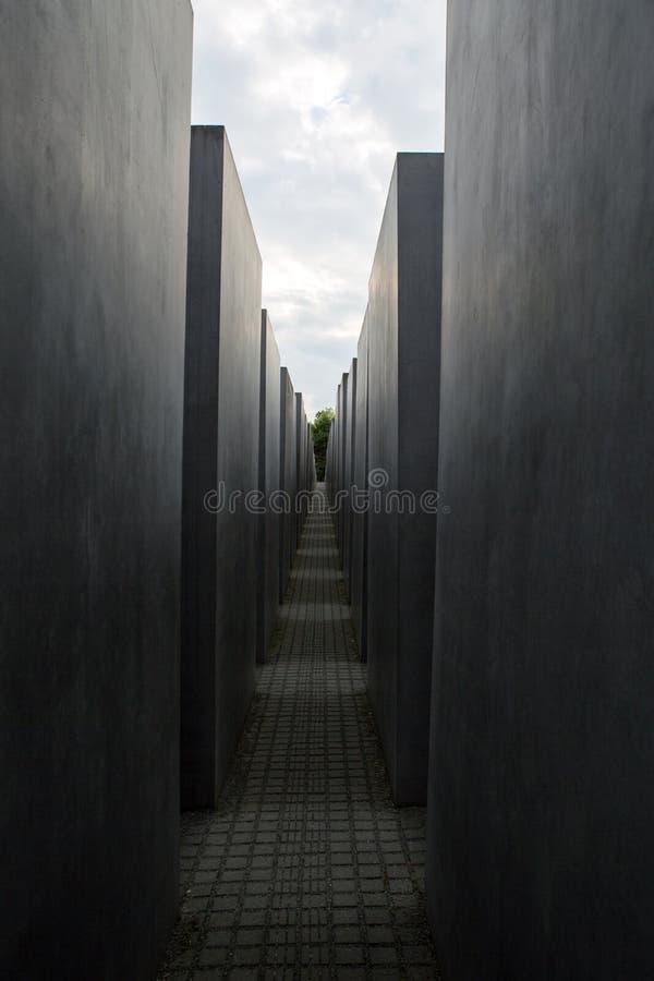 Berlin Holocaust Memorial fotografía de archivo libre de regalías