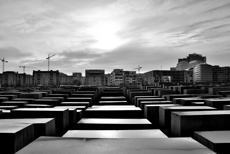 Berlin Holocaust Memorial fotografía de archivo