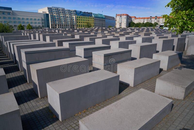 Berlin Holocaust Memorial aos judeus assassinados imagem de stock royalty free