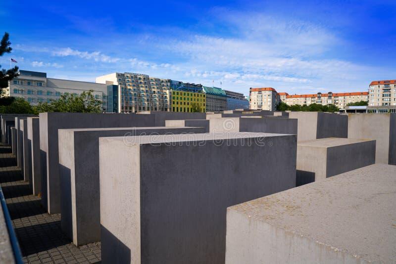 Berlin Holocaust Memorial aos judeus assassinados fotos de stock royalty free