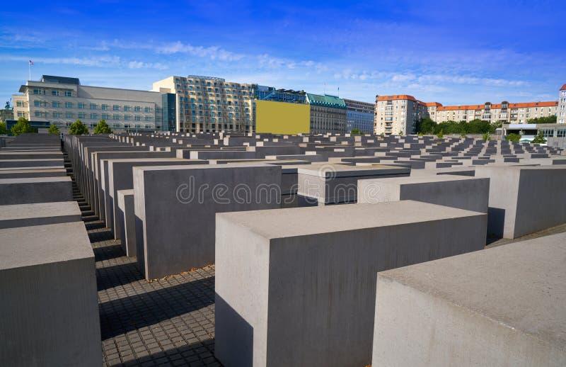 Berlin Holocaust Memorial aos judeus assassinados fotos de stock