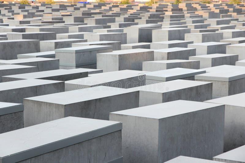 Berlin Holocaust Memorial fotografia de stock