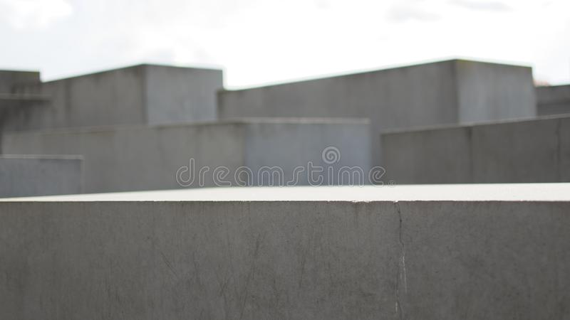 Berlin Holocaust Memorial imagen de archivo