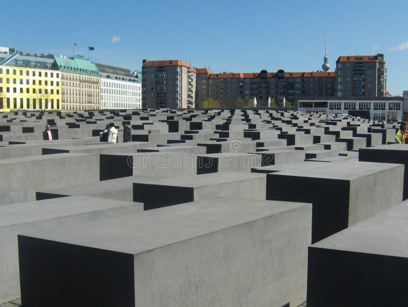 Berlin Holocaust Memorial, em Berlim, Alemanha foto de stock