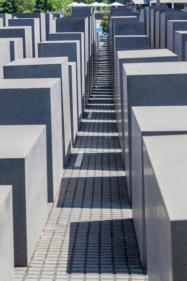 Berlin Holocaust Memorial Germany fotografía de archivo