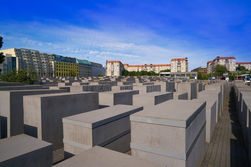 Berlin Holocaust Memorial a los judíos asesinados foto de archivo libre de regalías