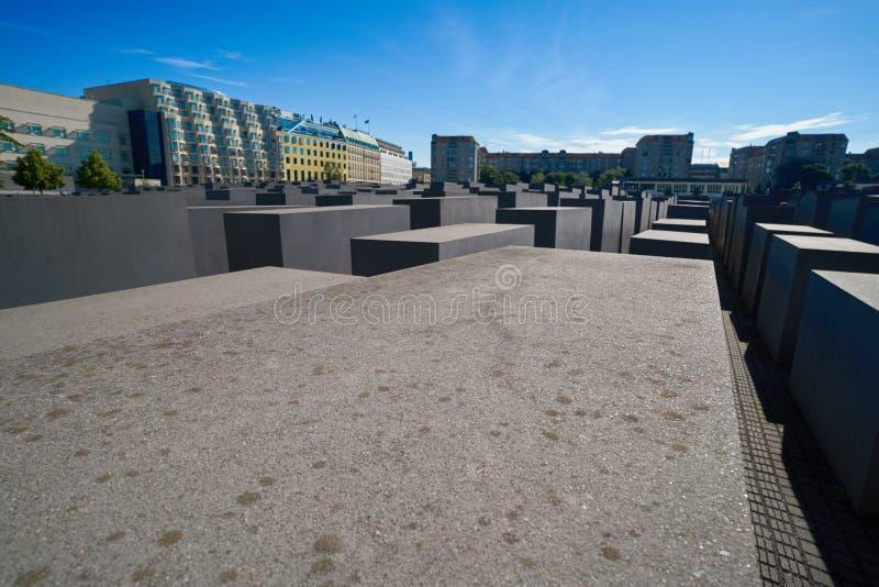 Berlin Holocaust Memorial a los judíos asesinados imagenes de archivo