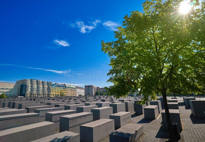 Berlin Holocaust Memorial a los judíos asesinados fotos de archivo