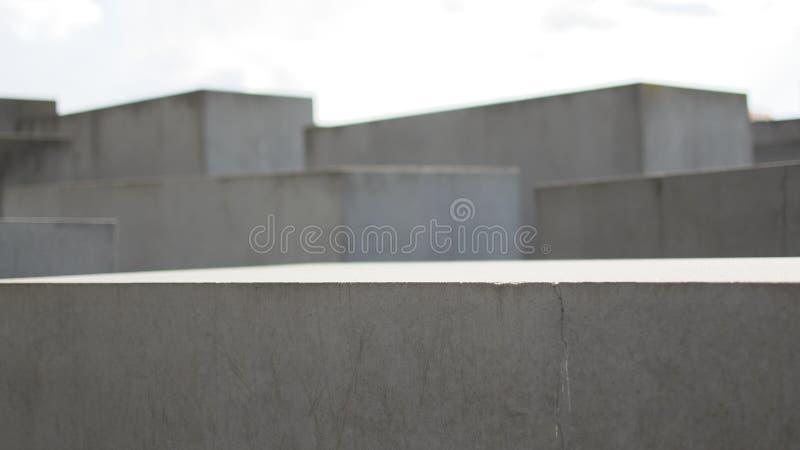 Berlin Holocaust Memorial imagem de stock