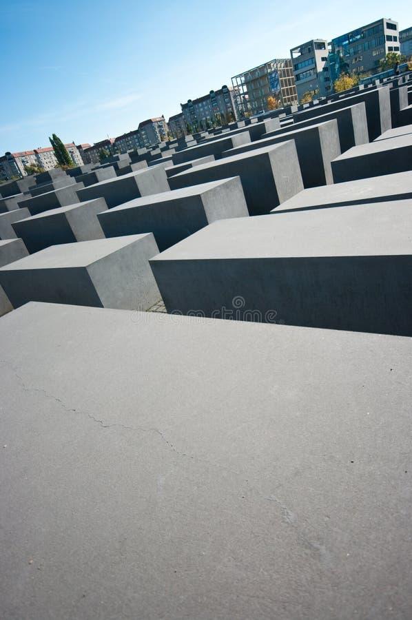 Berlin, Holocaust monument stock photo