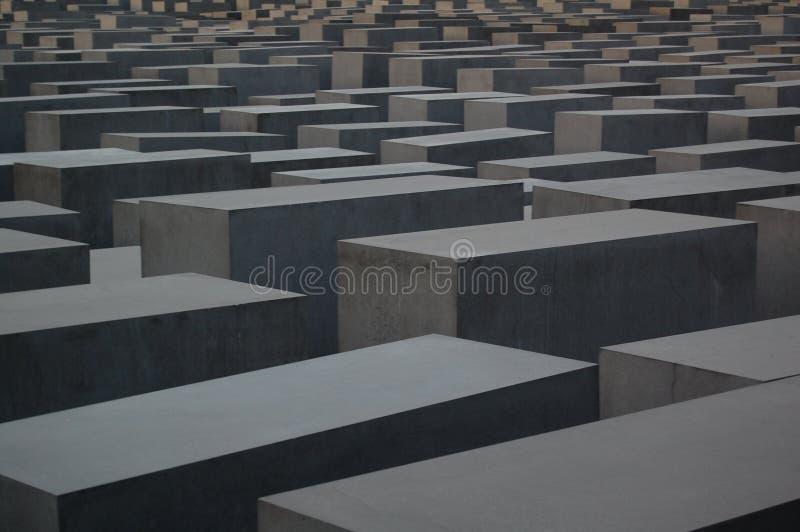 berlin holokausta pomnik zdjęcie stock