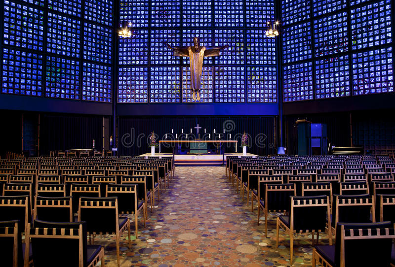 Download Berlin Inside The Memorial Church Stock Photo - Image: 15389328