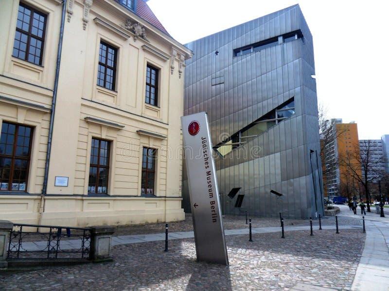 Berlin Jewish Museum fotos de stock royalty free