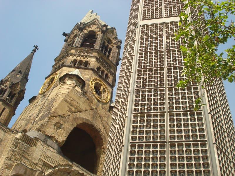 Berlin, Kaiser Wilhelm Memorial Church photo stock