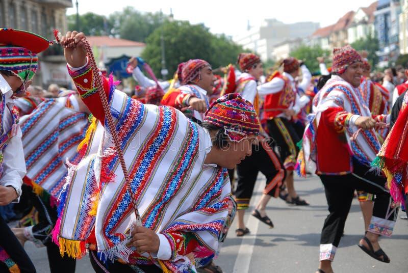 berlin karnevalkulturer royaltyfri bild