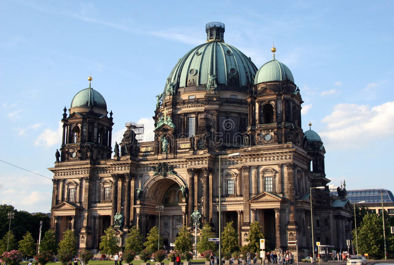 berlin katedra fotografia stock