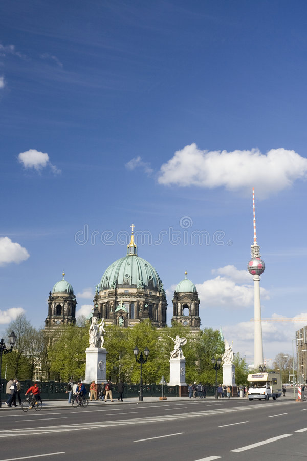 Berlin-Kathedrale lizenzfreie stockfotos