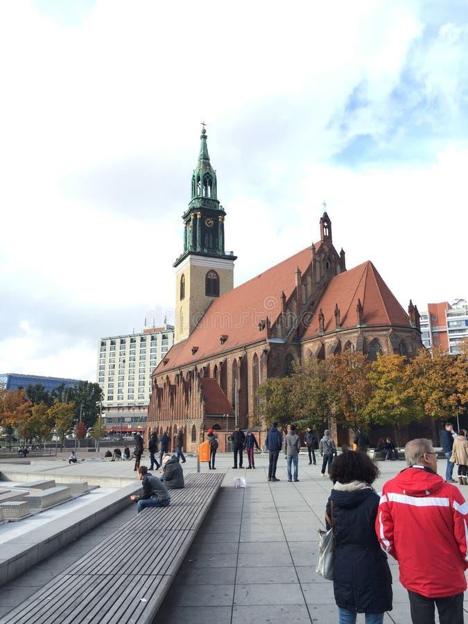 Berlin-Kirche lizenzfreie stockbilder