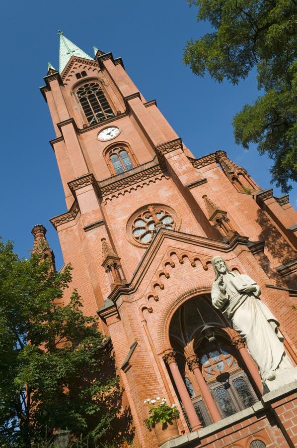 berlin kyrklig gethsemane royaltyfri foto