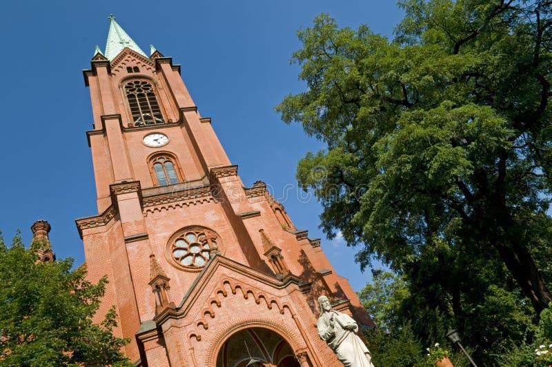 berlin kyrklig gethsemane arkivbilder