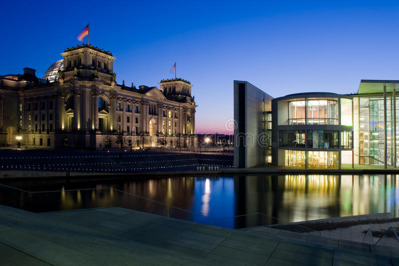 Berlin le Reichstag images libres de droits