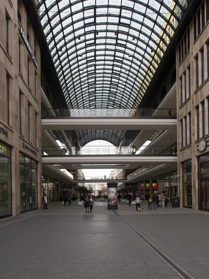 Berlin Mall, Berlin royalty free stock photography