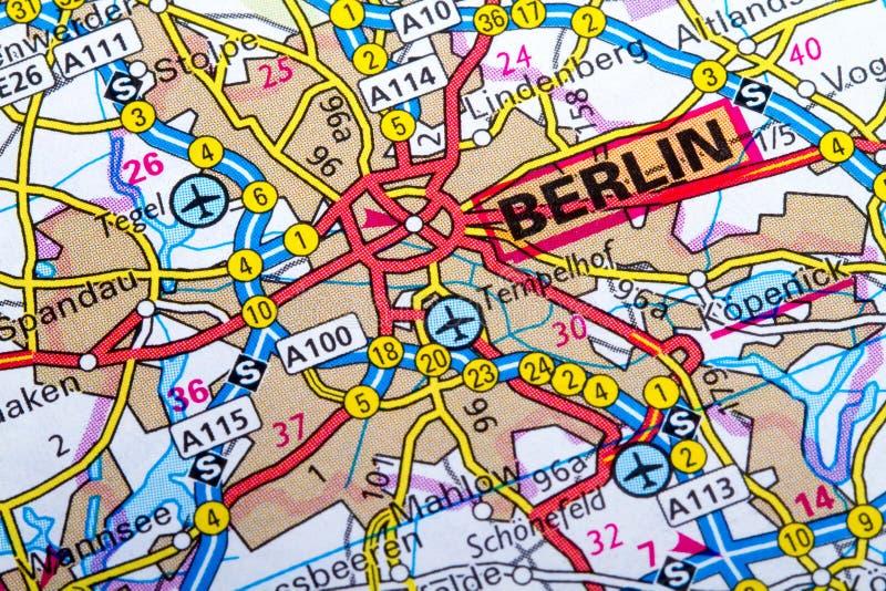 Download Berlin map stock image. Image of orientation, nantes - 36800883