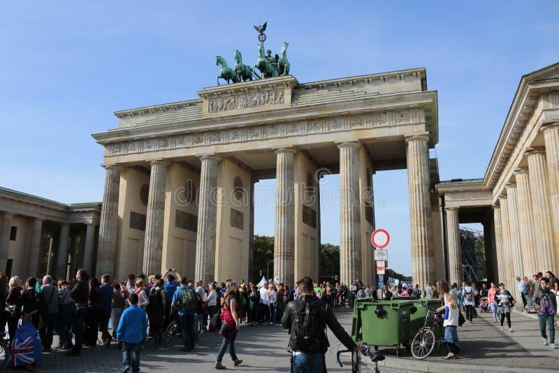 Berlin Marathon foto de archivo libre de regalías