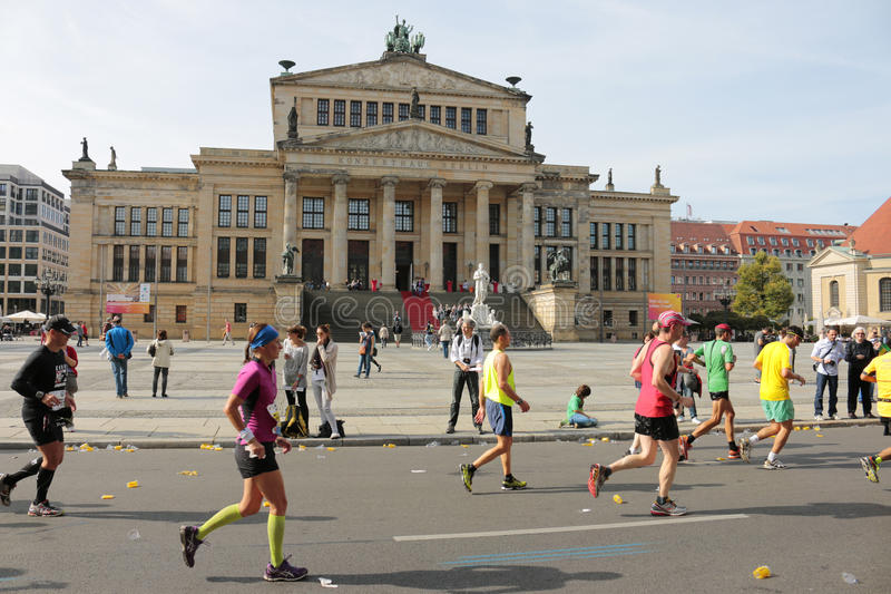 Berlin Marathon royalty free stock photography