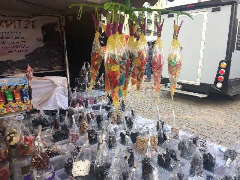 Berlin Market foto de stock