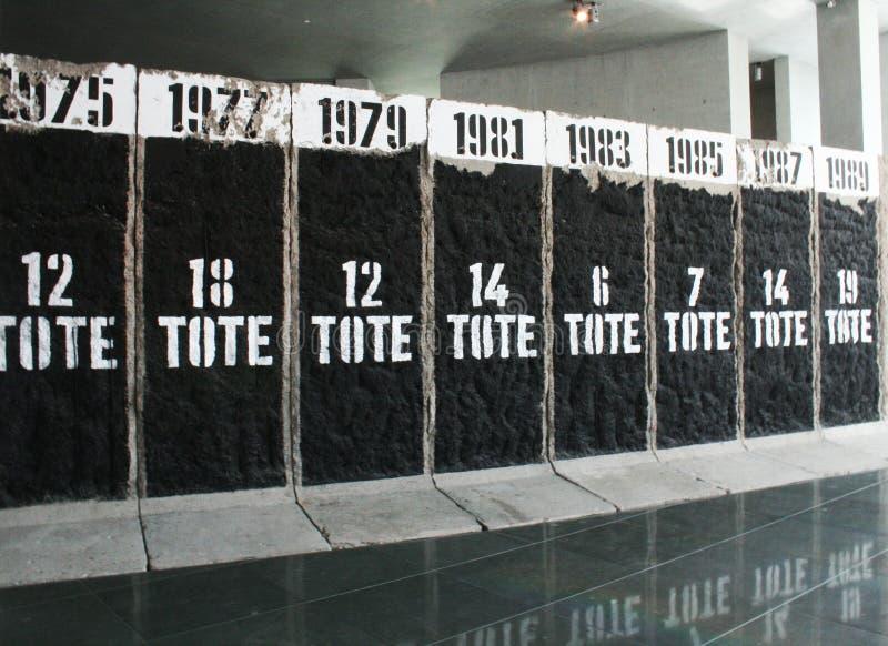 Berlin Memorial Wall Un libro de la conmemoración imagen de archivo