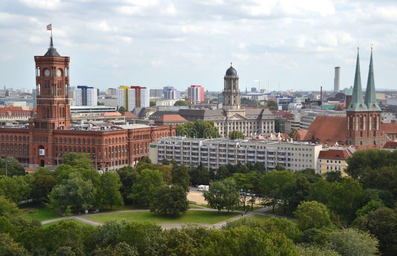 berlin miasta widok zdjęcia royalty free
