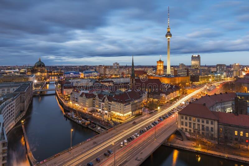 Berlin Mitte arkivfoto