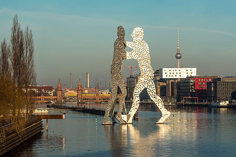 Berlin - molekuła mężczyzna obrazy royalty free