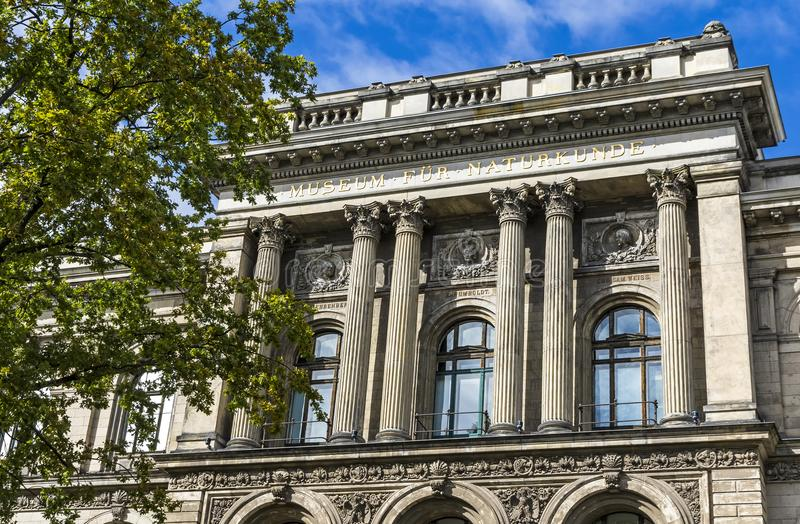 Berlin Museum d'histoire naturelle, Allemagne photos libres de droits