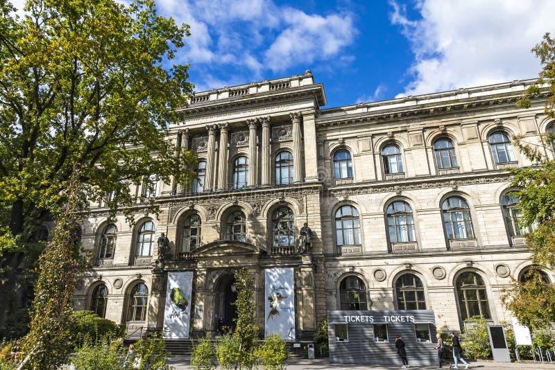 Berlin Museum da história natural, Alemanha imagens de stock