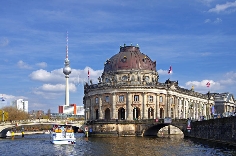 Berlin museum island stock photos