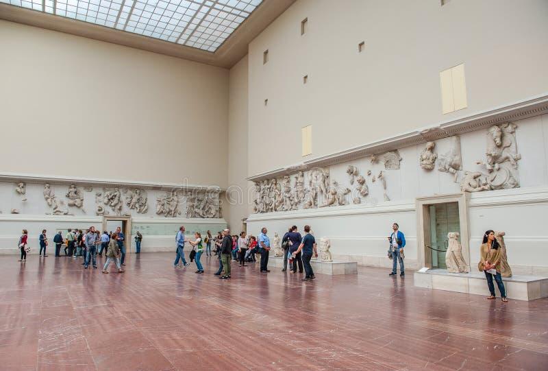 berlin museum pergamon royaltyfri foto