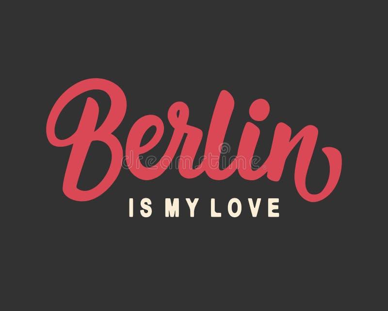 Berlin Is My Love vector illustratie