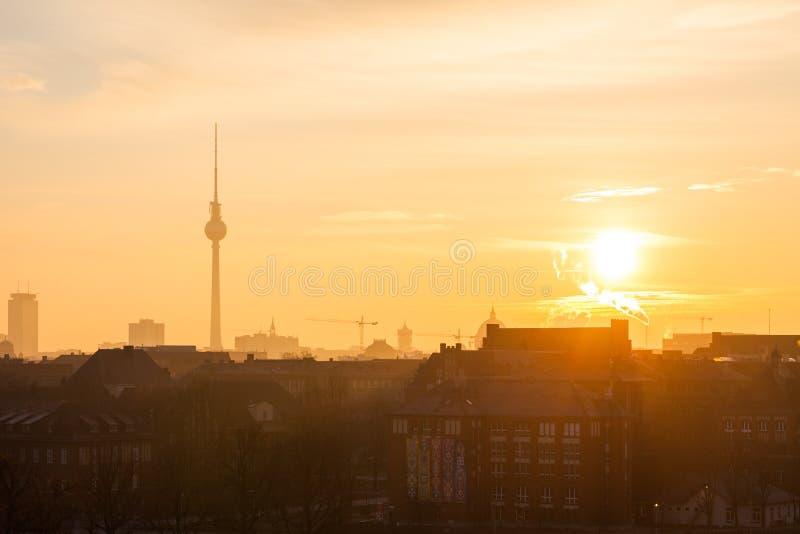 berlin nad widok obrazy royalty free