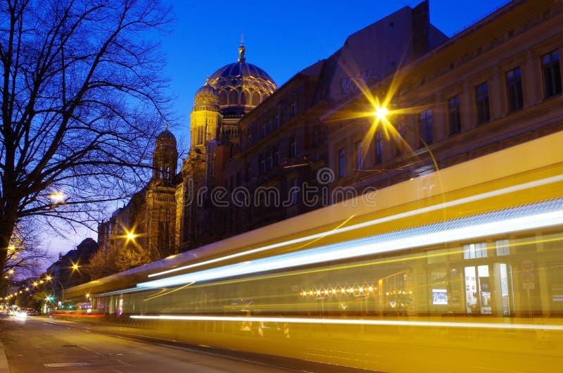 berlin ny synagoga royaltyfria foton