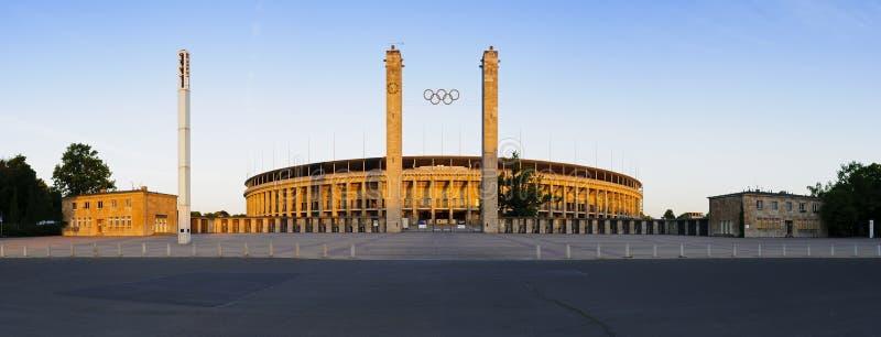 berlin olimpijski panoramy stadium obraz royalty free