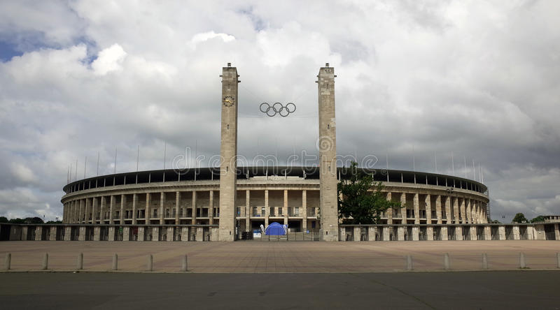 The Berlin Olympiastadion royalty free stock photography